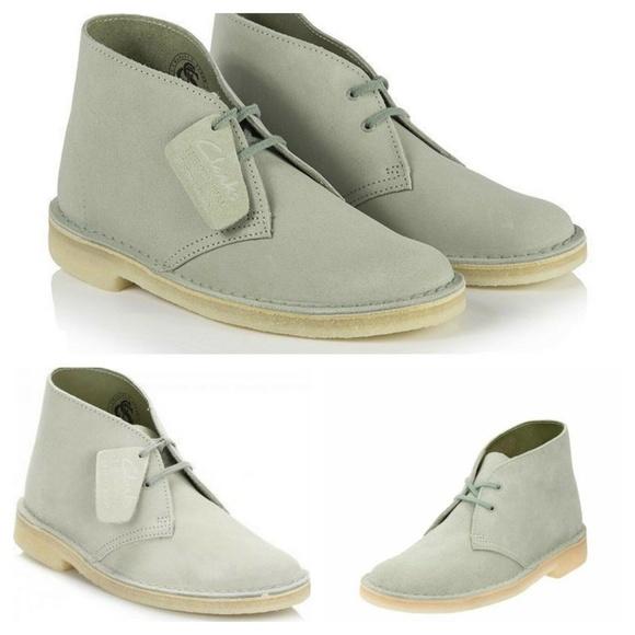 CLARKS ORIGINALS Women's Suede Desert Boots Sz 8.5